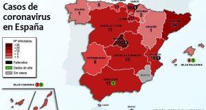 بسبب كورونا: تعطيل الدراسة في إسبانيا.. وتعادل حول مباريات الليغا