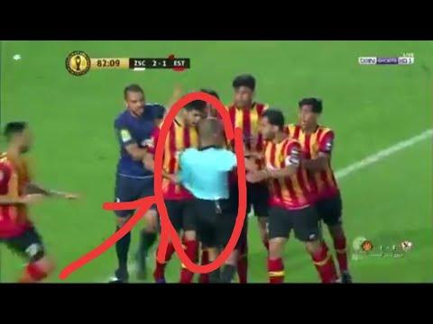 لاعبوه يتصرفون مثل قطيع من الضباع: عقوبات ضد الترجي التونسي + فيديو