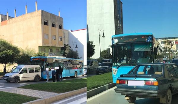 """العقلية المحلية لحافلات """"ألزا"""" الإسبانية.."""