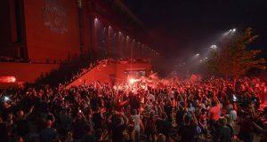 ليفربول غاضب من احتفالات جماهيره