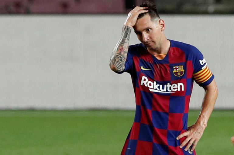 ميسي يعلّق مفاوضات تجديد عقده مع برشلونة