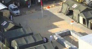بعض المتعافين المغادرين للمستشفى الميداني بن سليمان يسرقون معدات وتجهيزات المستشفى