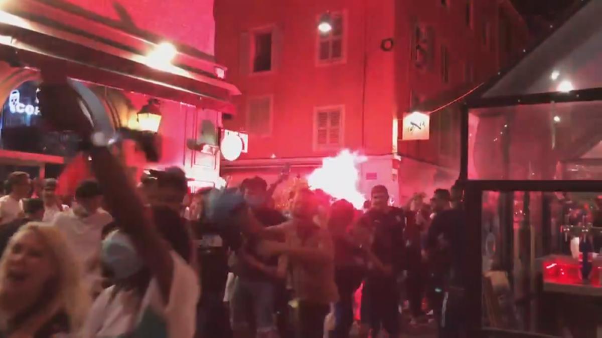 احتفالات في مرسيليا بعد خسارة باريس سان جرمان