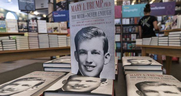 كتاب ابنة شقيقة ترامب: الرئيس الأمريكي كارثة كبرى..