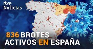 انفجار الوضع الوبائي بإسبانيا