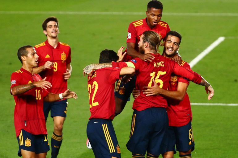 المنتخب الإسباني يقنع من جديد