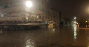 كازا تغرق.. وأمطار قياسية في طنجة