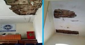 إلغاء نشاط نقابي بسبب انهيارات في مبنى الاتحاد المغربي للشغل