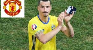 إبراهيموفيتش ينتقل رسميا إلى مانشستر يونايتد
