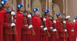 الحرس الملكي المغربي الذي تأسس سنة 1088م يعتبر الجسم العسكري الأقدم في العالم الذي لا يزال في الخدمة لحد الآن