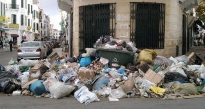 مشكلة النفايات تستفحل في مدينة تطوان