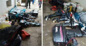 أمن طنجة يحجز على معدات خاصة بالهجرة السرية داخل شقة بحي بوخالف
