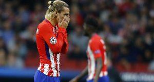 أتليتيكو مدريد توشك أن تغادر عصبة الأبطال