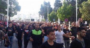 """شباب تطوان يتظاهرون للمطالبة بمحاسبة المسؤولين عن مقتل """"حياة"""""""