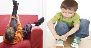 طفلك يحتاج حذاء جديدا كل 4 أشهر