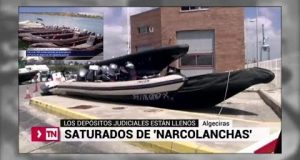 مئات زوارق الحشيش المصادرة تغرق موانئ الجنوب الإسباني + فيديو