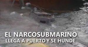 غواصة الكوكايين في إسبانيا