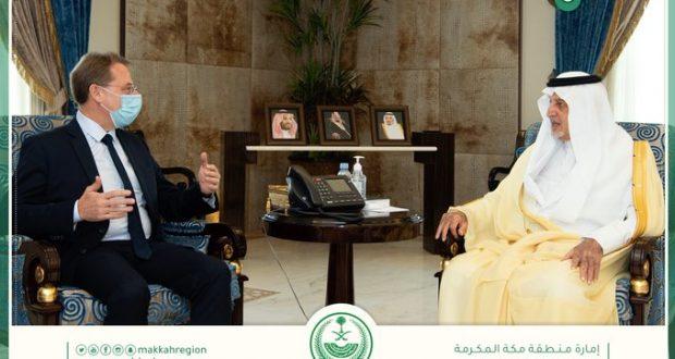في عز مقاطعة المسلمين لفرنسا: لقاء ودي للسفير الفرنسي في السعودية