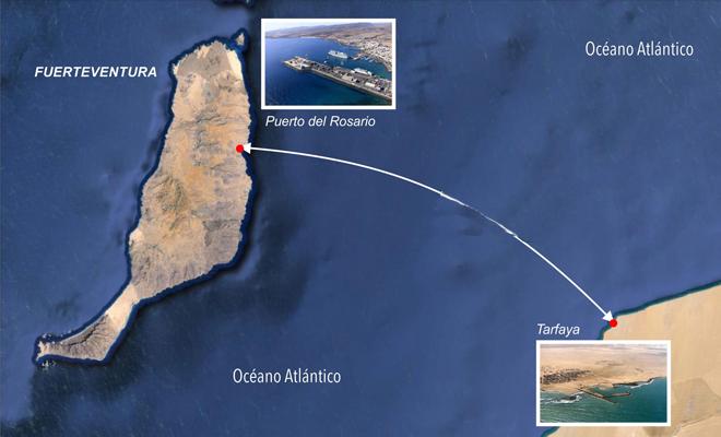 خط بحري جديد بين المغرب والخالدات